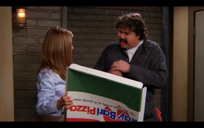Ray Bari Pizza – Friends TV Show Product Placement
