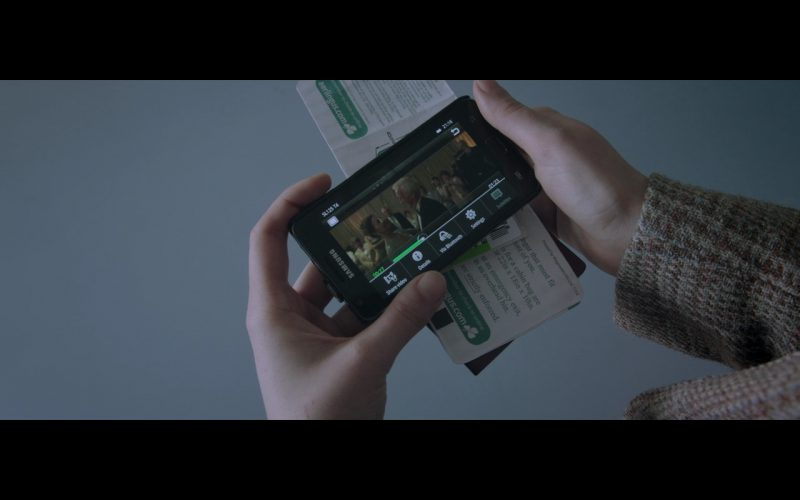 Samsung Smartphone - Standby (2014) Movie Product Placement