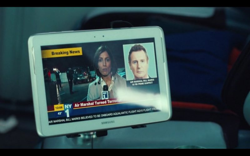Samsung Tablets – Non-Stop (2014) Movie Product Placement