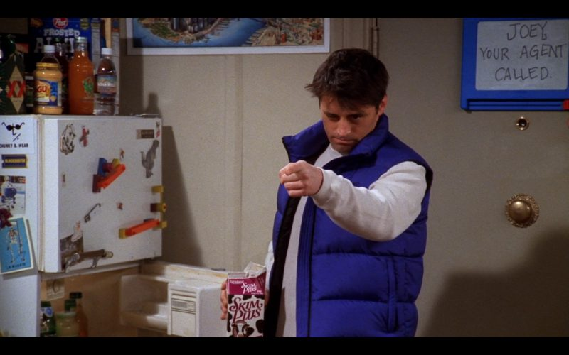 Skim Plus Milk by Farmland Dairies in Friends - TV Show Product Placement