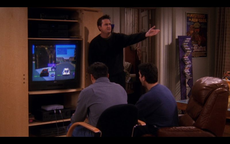Sony PlayStation - Friends - TV Show Product Placement