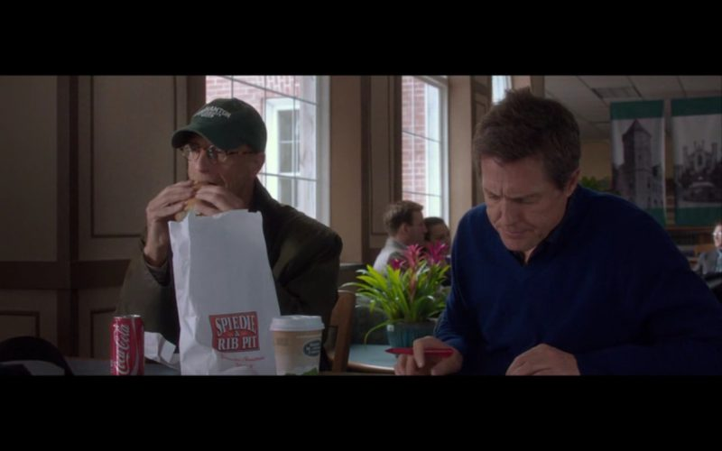 Spiedie & Rib Pit and Coca-Cola - The Rewrite (2014) Movie Product Placement