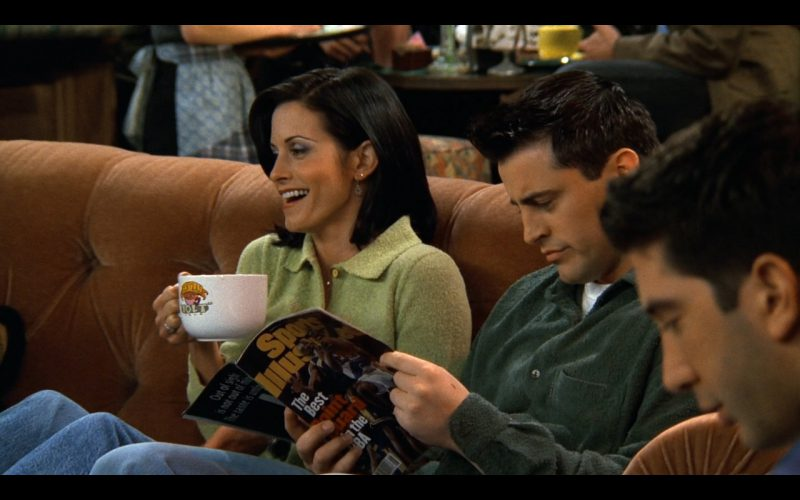Sports Illustrated - Friends - TV Show Product Placement