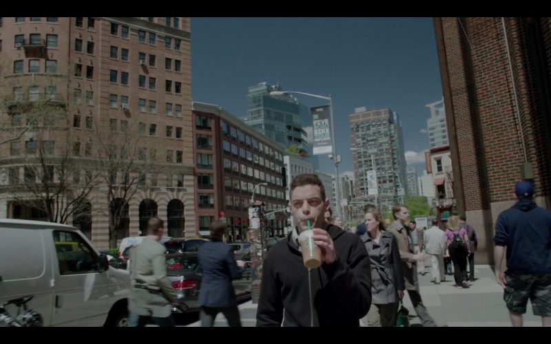 Starbucks Vanilla Latte -  Mr. Robot TV Show Product Placement