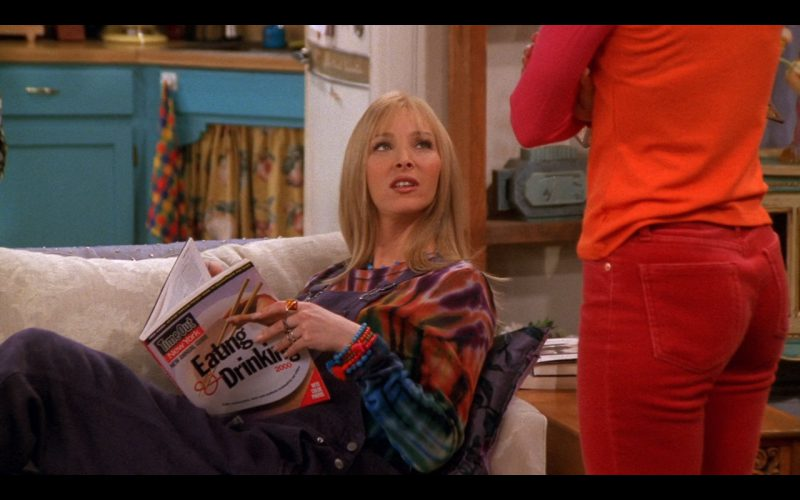 Time Out New York - Friends TV Show Product Placement