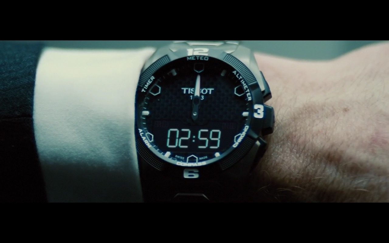 Tissot Watches Mission Impossible Rogue Nation 2015 Movie Scenes