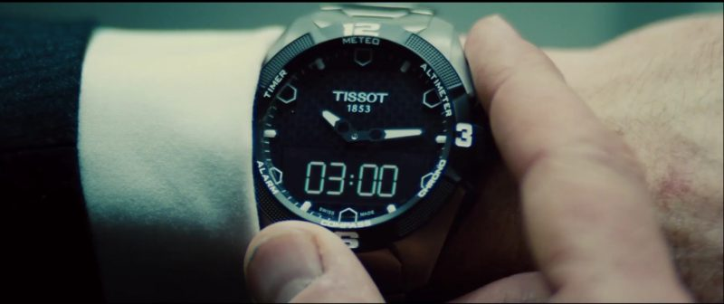 Tissot Watches - Mission: Impossible – Rogue Nation (2015) Movie Product Placement