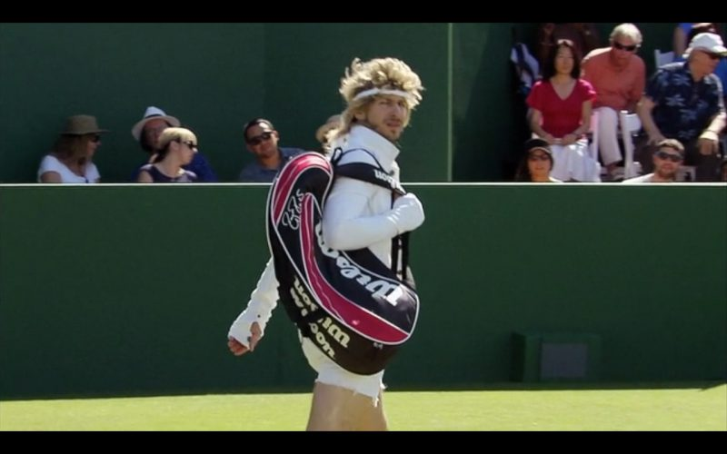Wilson Tennis Bag – 7 Days in Hell (TV Movie 2015) Movie Product Placement