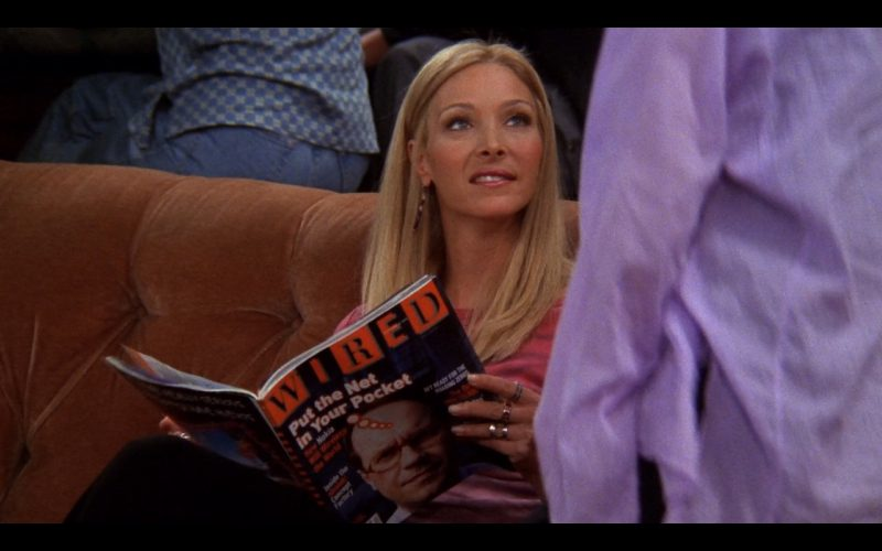 Wired - Friends TV Show Product Placement
