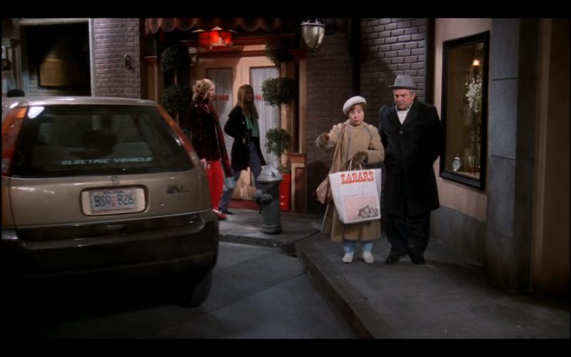 Zabar's Paper Bag – Friends TV Show Product Placement