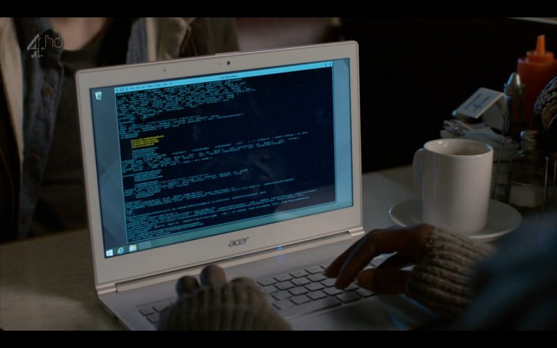 Acer Notebook – Humans – TV Series Product Placement (1)