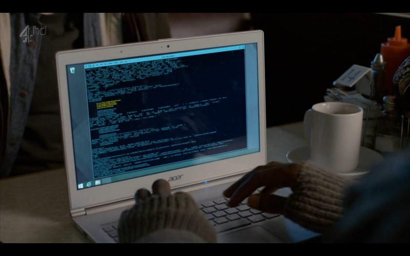 Acer Notebook - Humans - TV Series Product Placement (4)