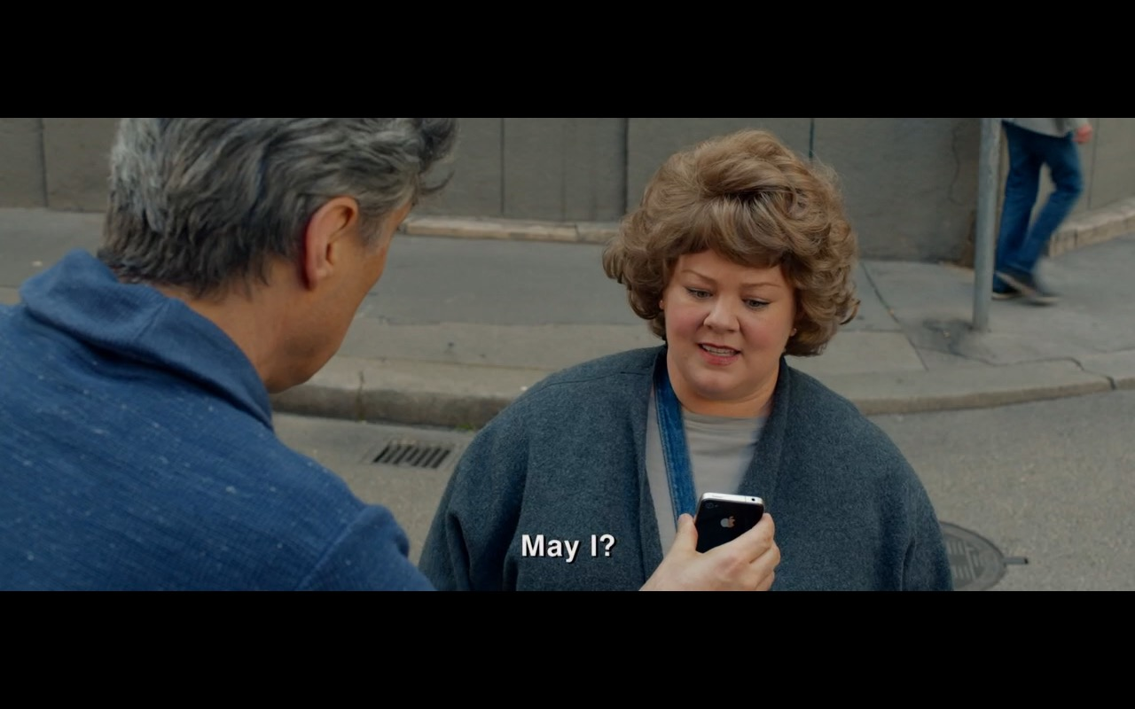 Apple iPhone 4/4S - Spy (2015) Movie Product Placement