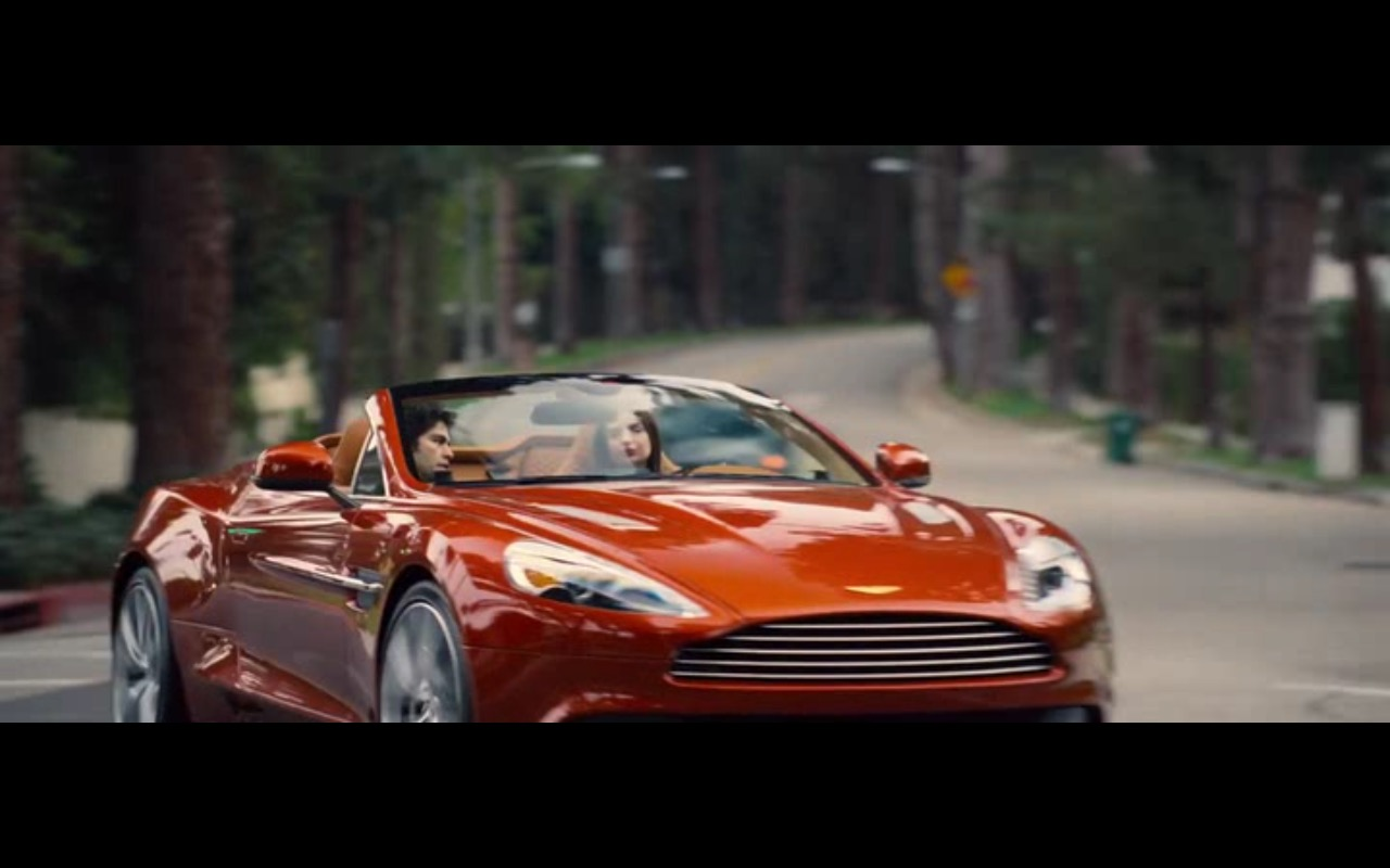 Aston Martin Vanquish - Entourage (2015) Movie Product Placement