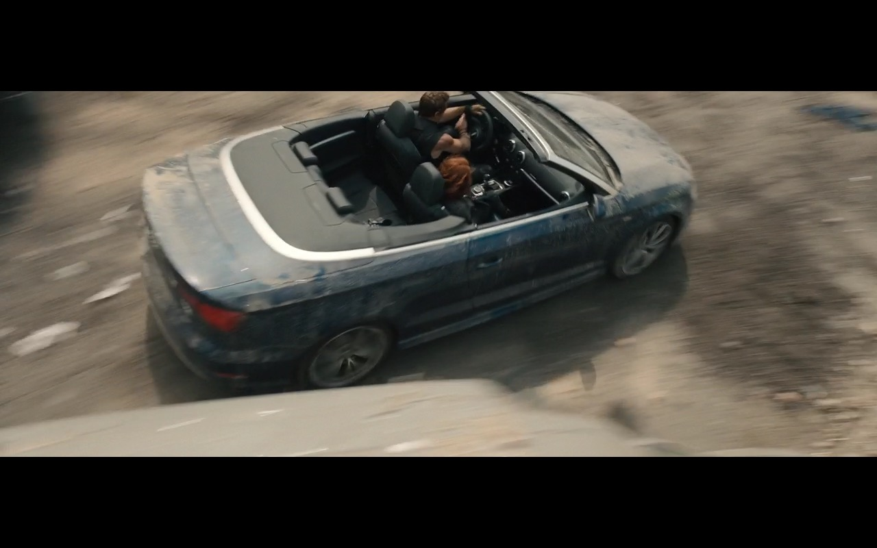 Audi A3 Cabriolet – Avengers: Age of Ultron (2015) - Movie Product Placement