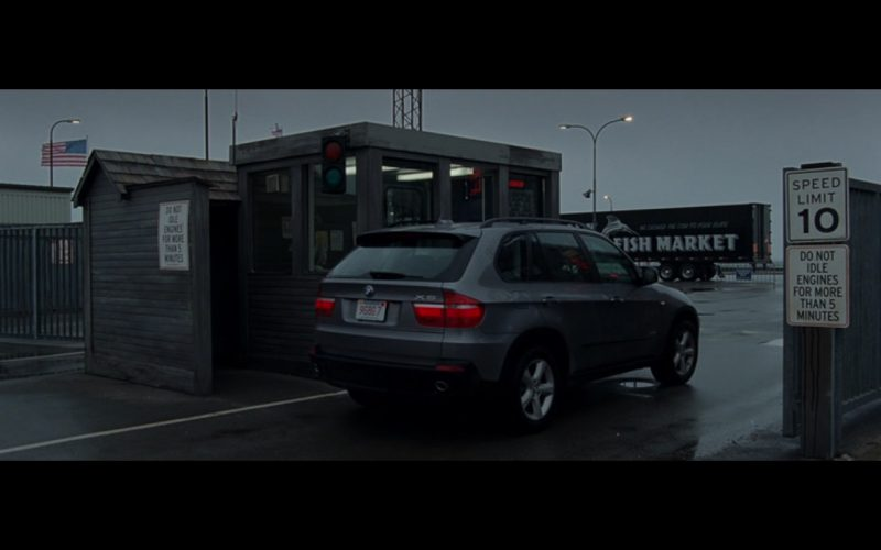 BMW X5 - The Ghost Writer (2010) Movie Product Placement