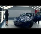 Blue Aston Martin DB9 Coupé - Spy (2015)