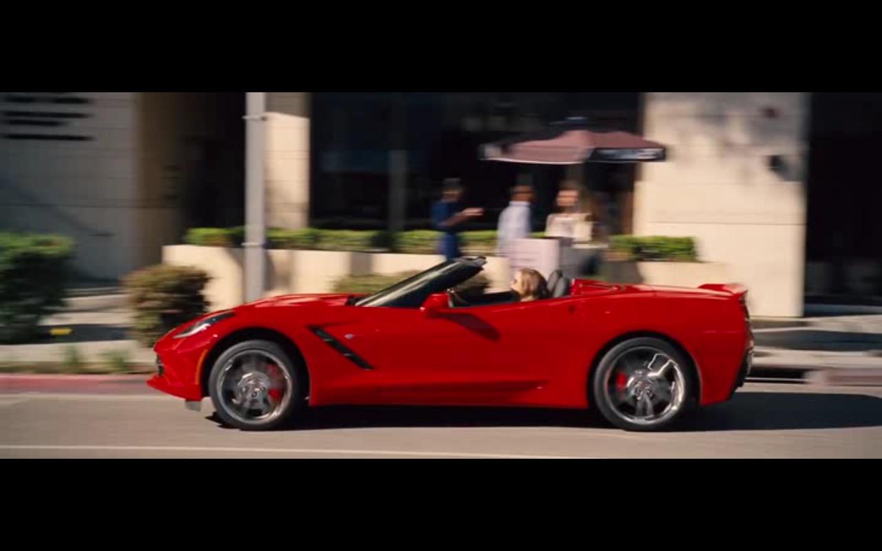Chevrolet Corvette Stingray Convertible – Entourage (2015) - Movie Product Placement