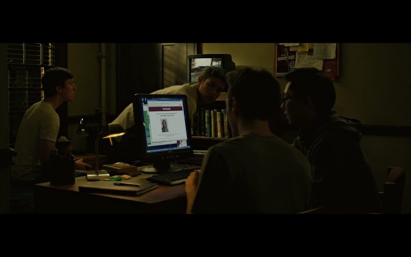 Dell Product Placement in The Social Network Movie (1)
