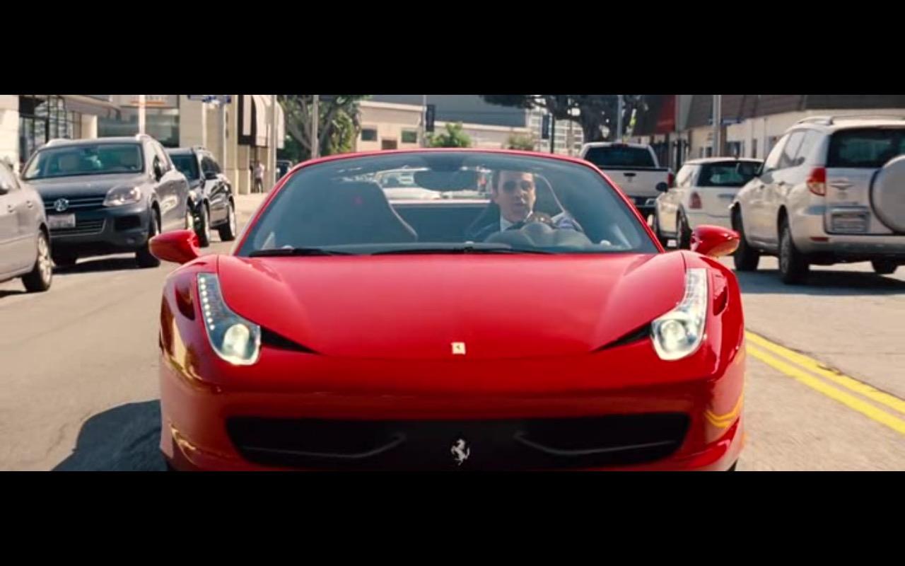 Ferrari 458 Italia – Entourage (2015) Movie Product Placement