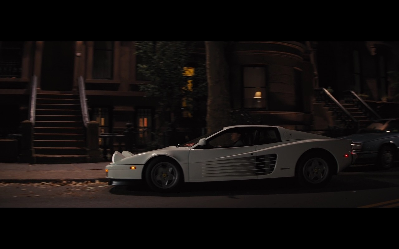 White ferrari testarossa the wolf of wall street 2013 for Wall street motor cars