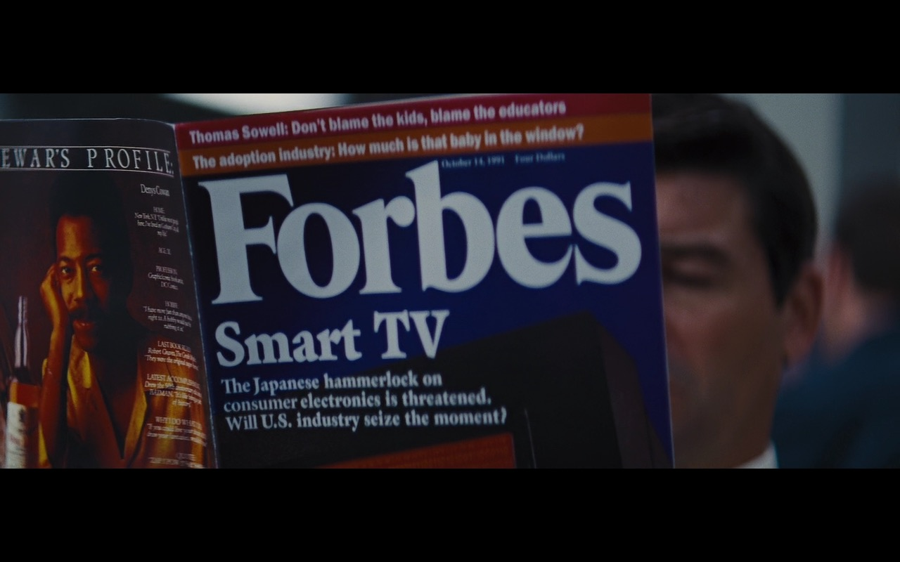 Forbes – The Wolf of Wall Street (2013) - Movie Product Placement