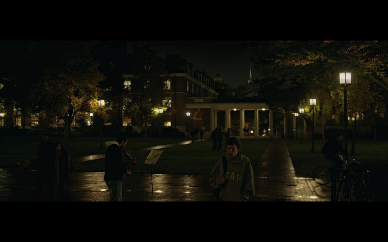 Gap Hoodie - The Social Network (2010) Movie Product Placement