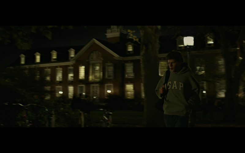 Gap Hoodie - The Social Network (2010) - Movie Product Placement