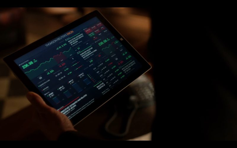 Microsoft Surface Tablet - Ray Donovan TV Show Product Placement