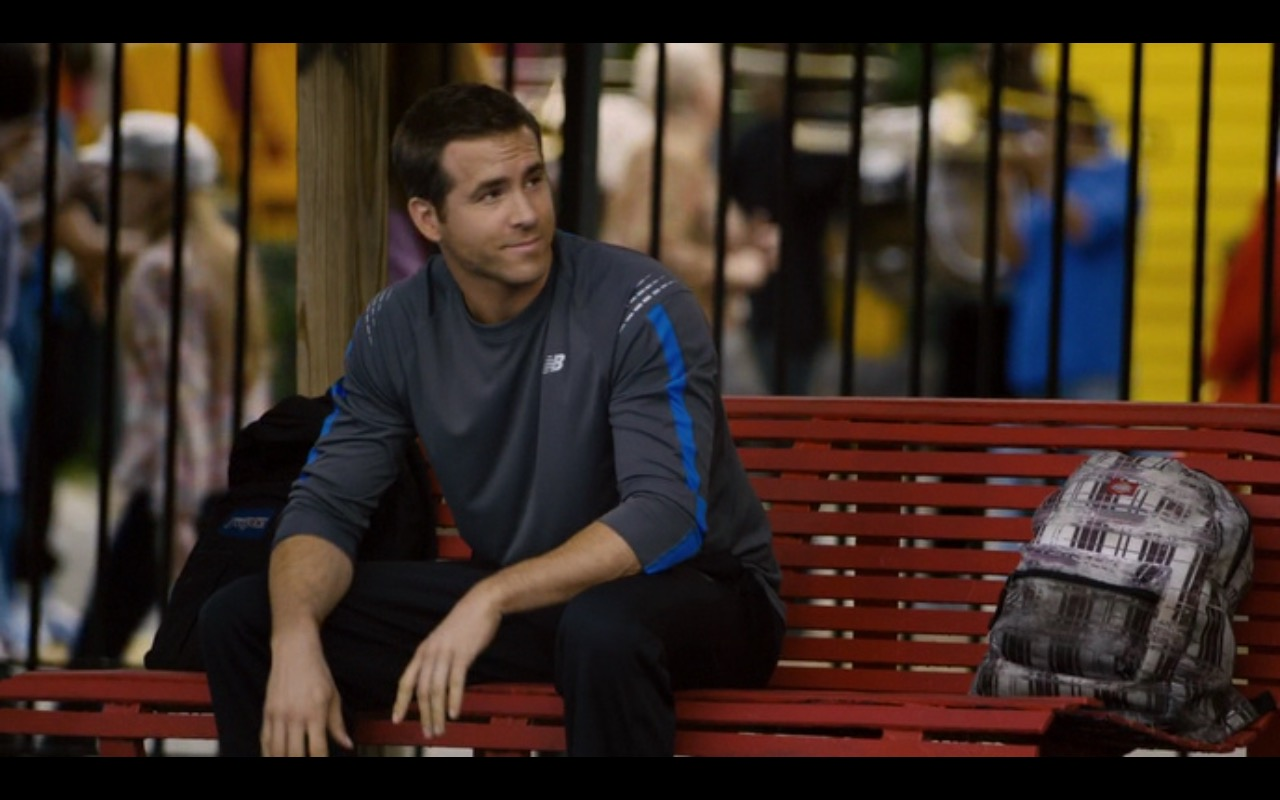 New Balance Long Sleeve Shirt – Self/less (2015) Movie Product Placement