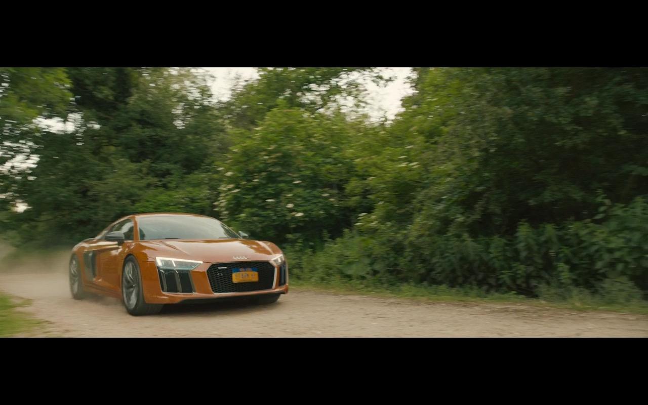 Orange Audi R8 (V10) – Avengers: Age of Ultron (2015) Movie