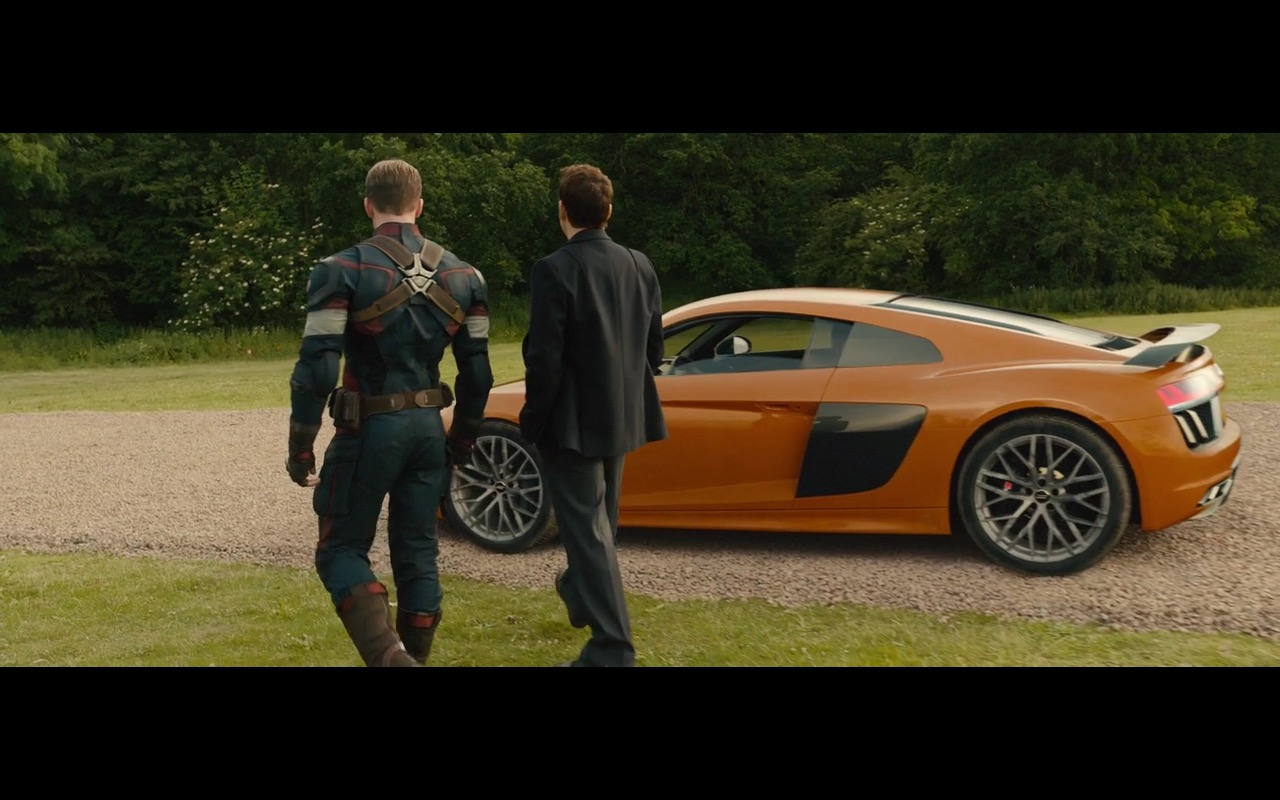 Ford Expedition El >> Orange Audi R8 (V10) – Avengers: Age of Ultron (2015) Movie