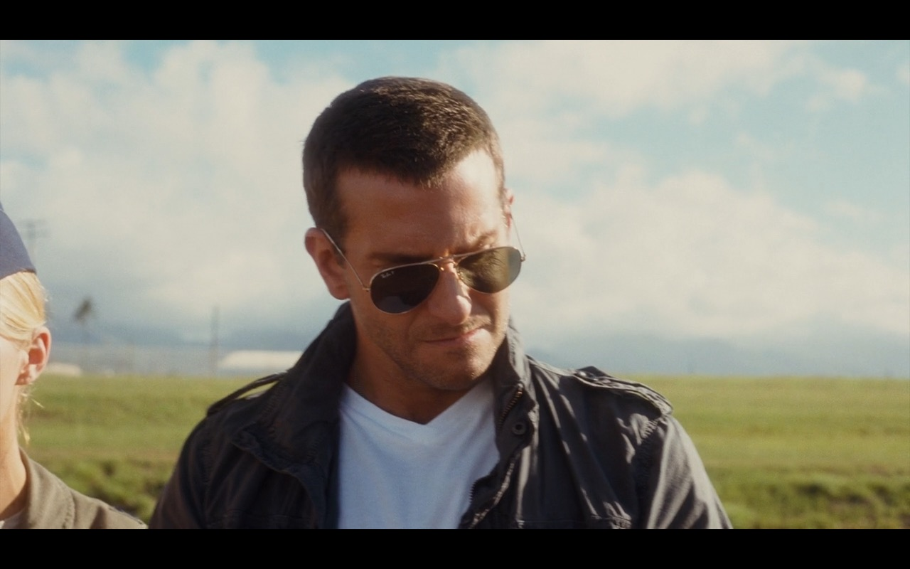 Ray Ban 3025 Large Aviator Sunglasses Aloha 2015 Movie