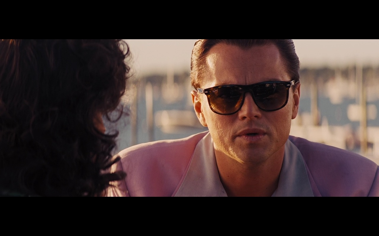 Ray-Ban Sunglasses For Men – The Wolf of Wall Street (2013) - Movie Product Placement