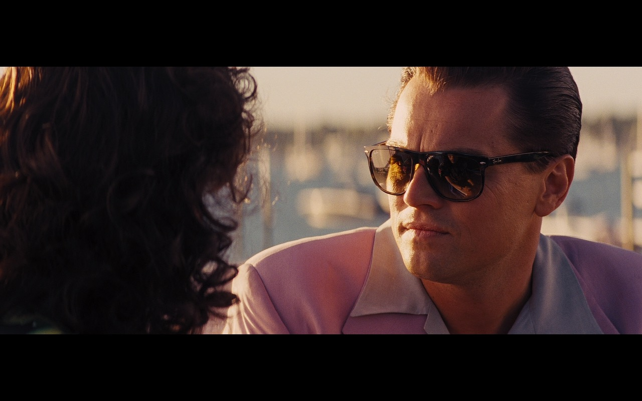 Ray-Ban Sunglasses For Men – The Wolf of Wall Street (2013) Movie Product Placement