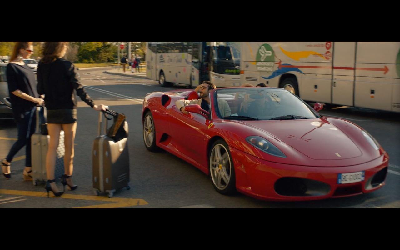 Red Ferrari F430 Spider Spy 2015 Movie Scenes