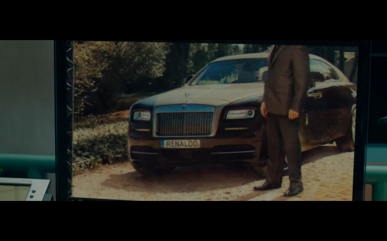 Rolls Royce Wraith in Spy 2015 Movie (2)