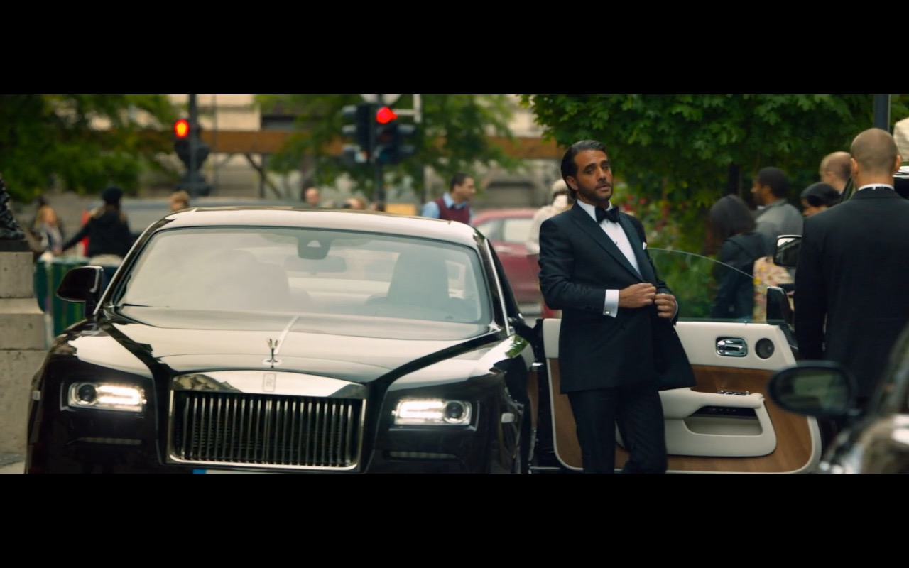 Rolls Royce Wraith in Spy 2015 Movie (3)