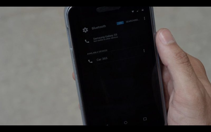Samsung Galaxy S5 - Mr. Robot - TV Show Product Placement