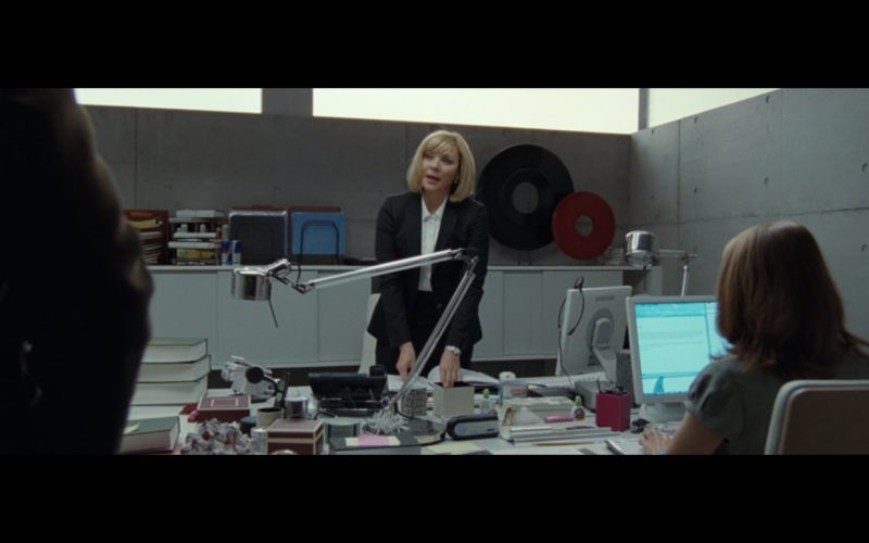 Samsung SyncMaster 971P LCD White Monitors in The Ghost Writer (2010) - Movie Product Placement