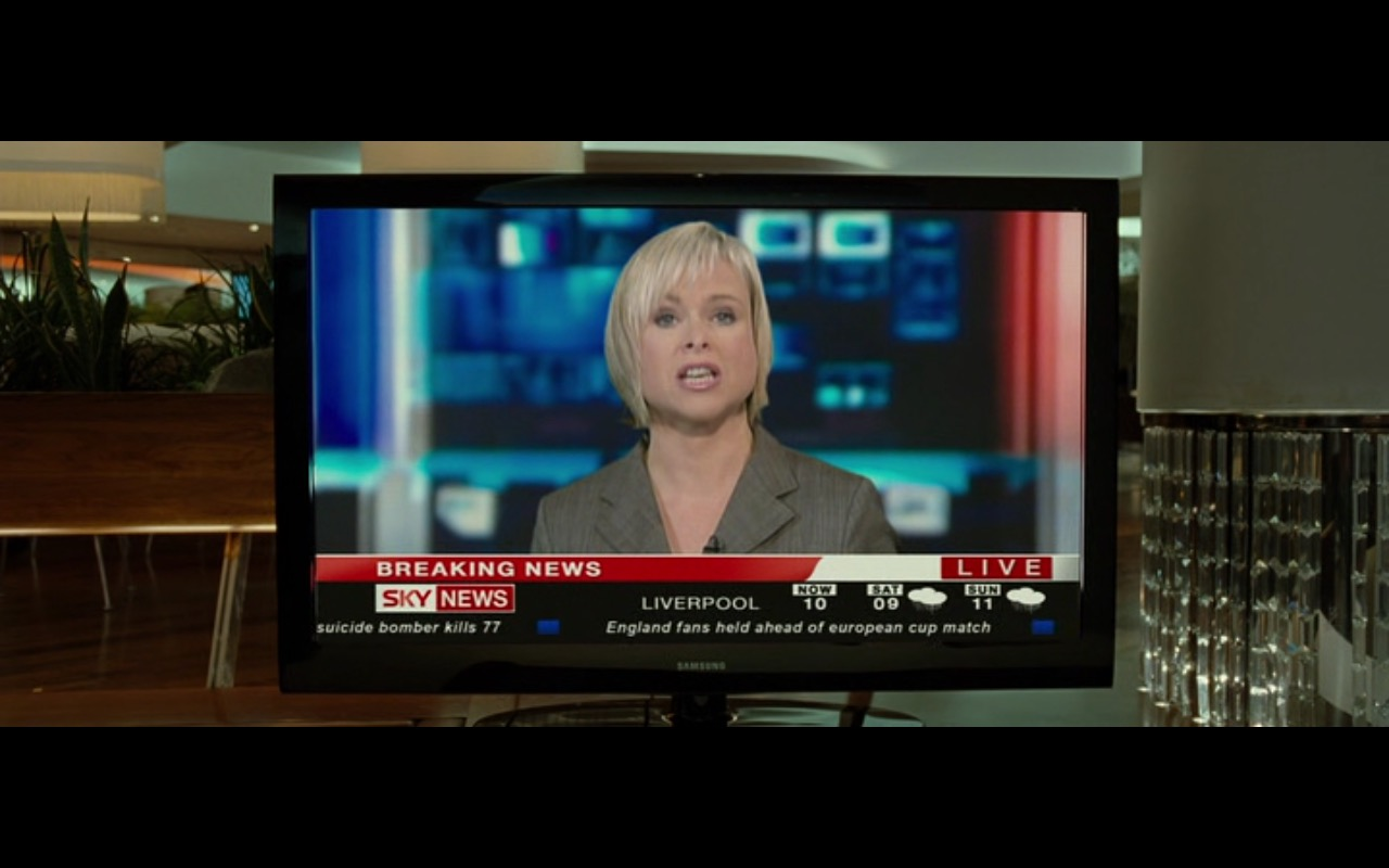 samsung tv and sky news the ghost writer 2010 movie scenes. Black Bedroom Furniture Sets. Home Design Ideas