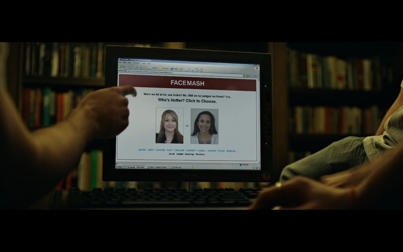 Sony Monitor – The Social Network (2010)