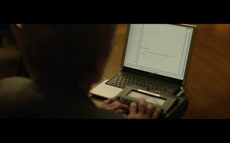 Sony VAIO Notebooks – The Social Network (2010) Movie Product Placement
