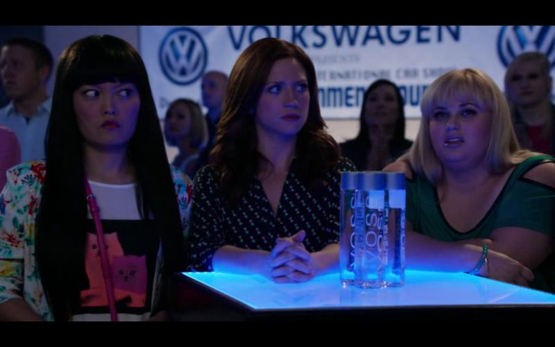 Voss (water) - Pitch Perfect 2 (2015) Movie Product Placement