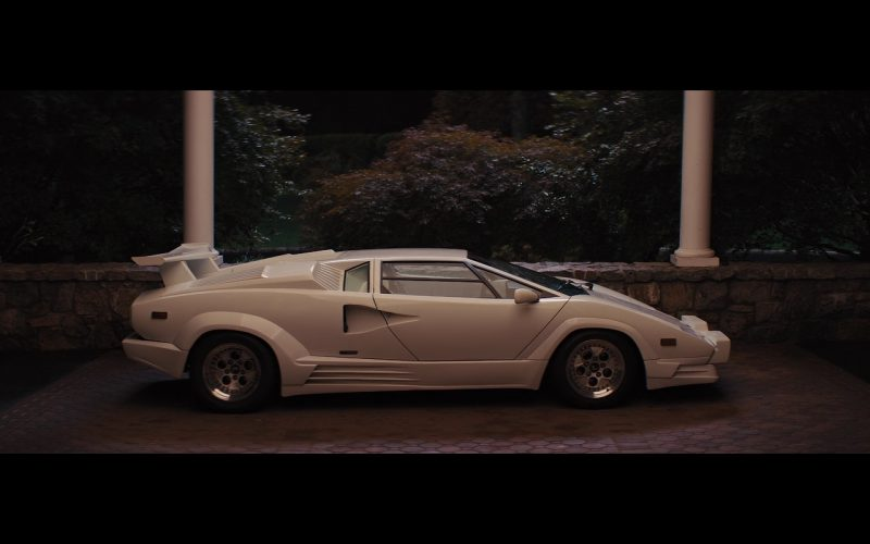 White Lamborghini Countach – The Wolf of Wall Street (1)