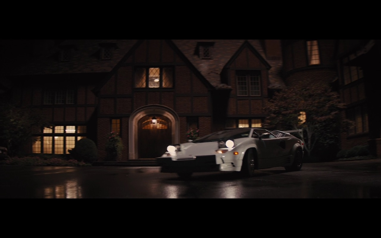 white lamborghini countach the wolf of wall street 2013 movie scenes. Black Bedroom Furniture Sets. Home Design Ideas