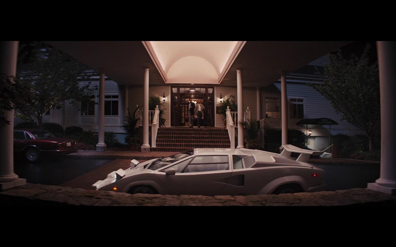White Lamborghini Countach – The Wolf of Wall Street (3)