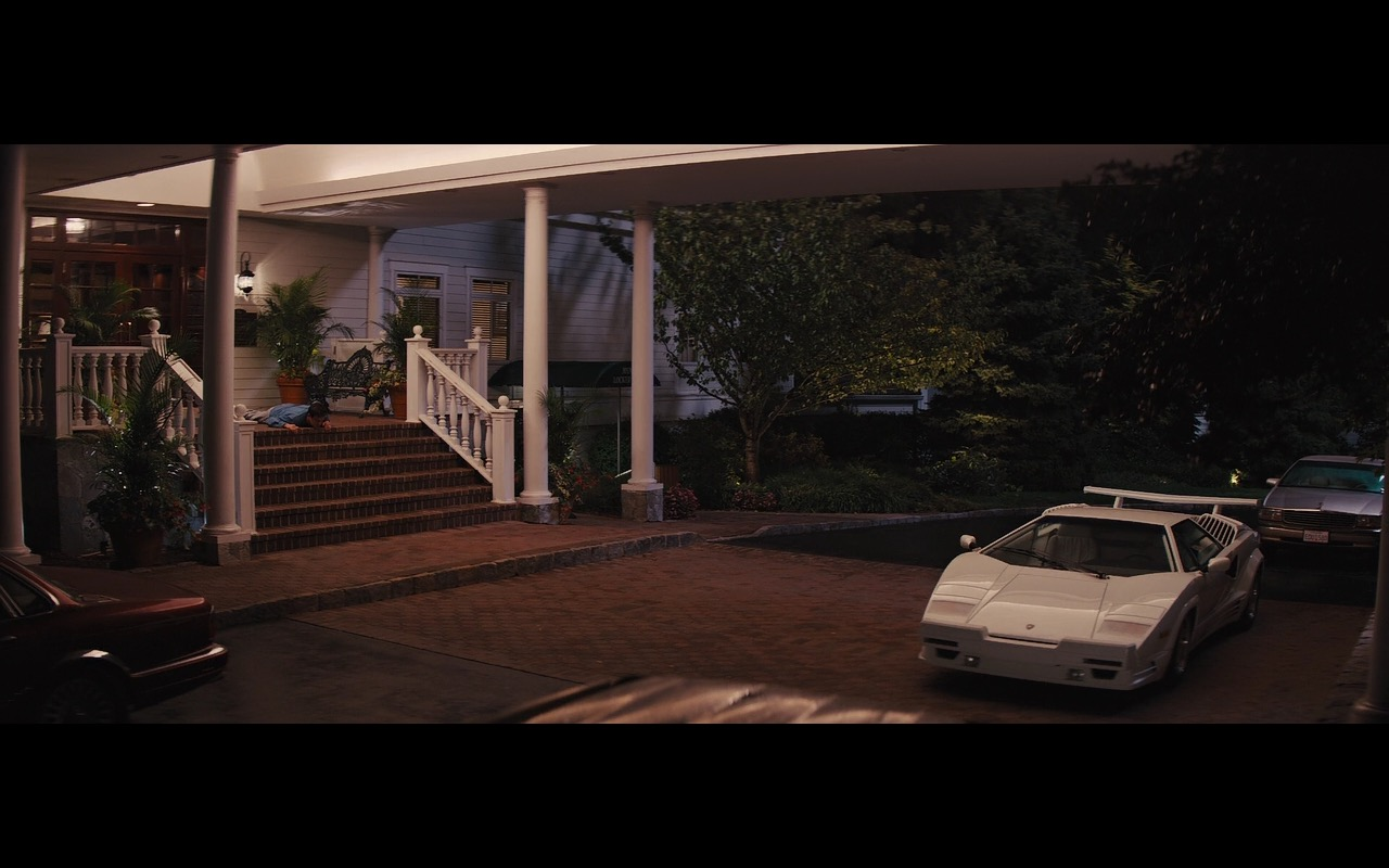 White Lamborghini Countach – The Wolf of Wall Street (4)