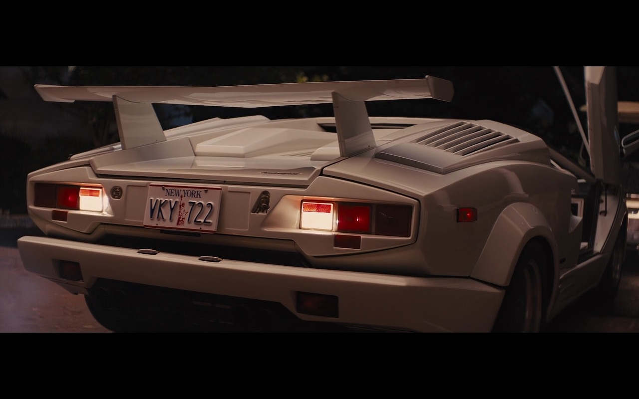White Lamborghini Countach – The Wolf of Wall Street (2013 ...