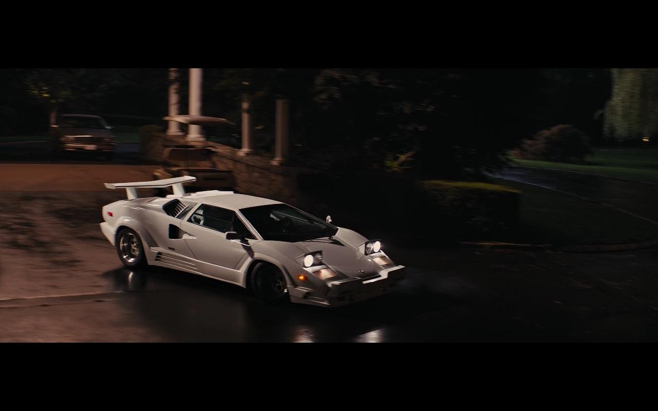 White Lamborghini Countach The Wolf Of Wall Street 2013